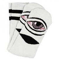 Toy Machine Skateboards Toy Machine Sect Eye III Crew Socks - 1 Pair - White