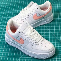Nike Air Force 1 Af1 Low Metallic Gold Women's Sneakers Fashion Shoes - Best Online Sale