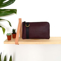 The Buffy Wallet in Burgundy