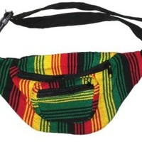Fabric Fanny Pack - High Quality - Color Patterns May Vary - Handmade in Guatamala