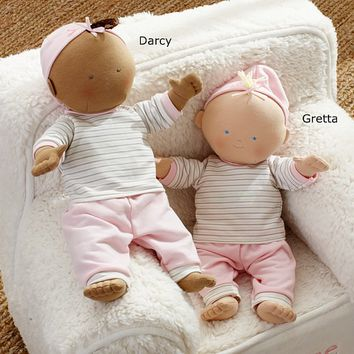 Soft Baby Dolls Gretta & Darcy | Pottery Barn Kids