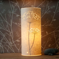 Cow Parsley Lamp by Hannahnunn on Etsy