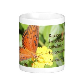 Monarch Butterfly, Bible Verse about hope & prayer from Zazzle.com