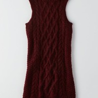 AEO Women's Sleeveless Sweater Dress