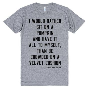Introvert - I Would Rather Sit On a Pumpkin