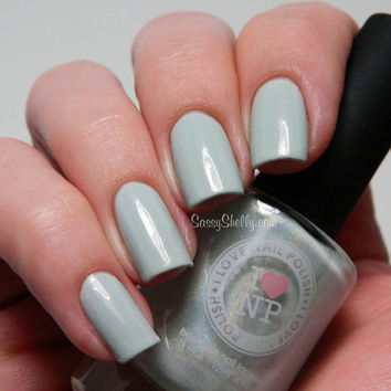 A Touch of Mint - Mint Green Holographic SpectraFalir Nail Polish