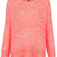 Knitted Fluro Weave Jumper - Sale  - Sale & Offers