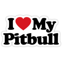 I Love My Pitbull