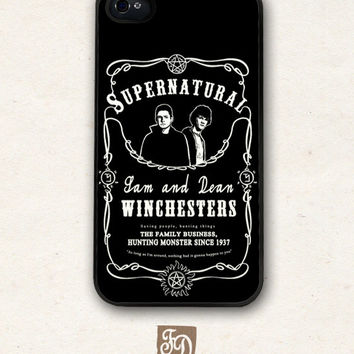 Iphone 5 hard case Supernatural, Sam and Dean Winchesters