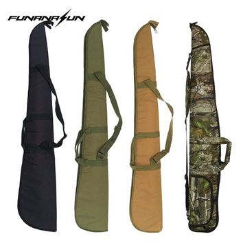 Tactical Rifle Gun Bag Pouch with Adjustable Strap Military Amry Gun Case Carrying Bag Gun Backpack Holster Hunting