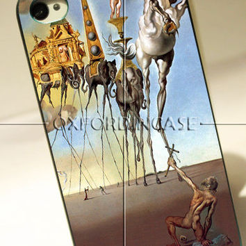 Salvador Dali Elephant - for iPhone 4/4S case iPhone 5 case hard case hard cover