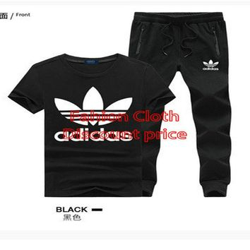 adidas Originals By Hyke Knitted Jumper Sleeveless Trousers Suit Black