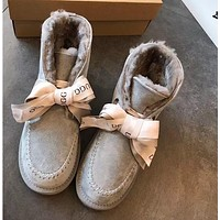UGG Bow tie snow boots-1