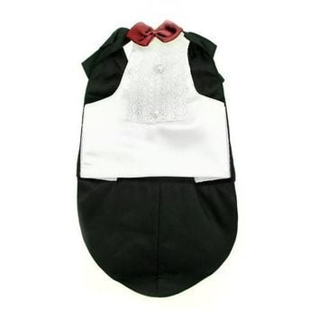 Tuxedo Dog Costume by Puppe Love