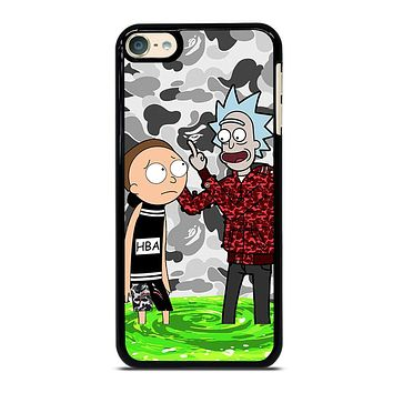 RICK AND MORTY BAPE iPod 4 5 6 Case