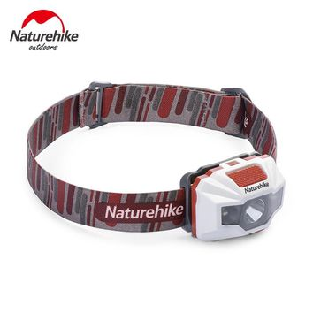 Naturehike Rechargeable LED Headlamp Headlight Outdoor Camping Hiking Fishing Flashlight Head Light Torch Lamp With USB