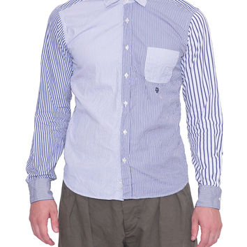 Wooster Lardini Striped cotton shirt