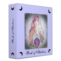 Moon in a Bottle 2 In. Thick Book of Shadows BOS
