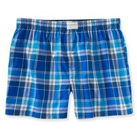 Aeropostale  Mens Plaid Woven Boxers - Blue, X-Small