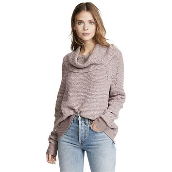 By Your Side Sweater, Mauve