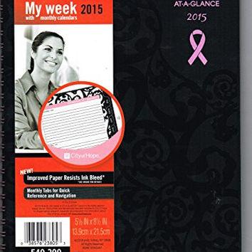 At-A-Glance My Week 2015 w Monthly Calendars 540-200