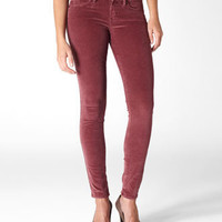 Levi's Corduroy Legging - Port Red - Velvet & Cords