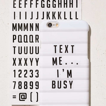 DIY Letterboard iPhone 6/6s Case - Urban Outfitters