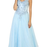 Plus Size Prom Long Dress Formal Evening Party Gown