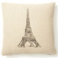 One Kings Lane - French Laundry - Eiffel Tower Pillow