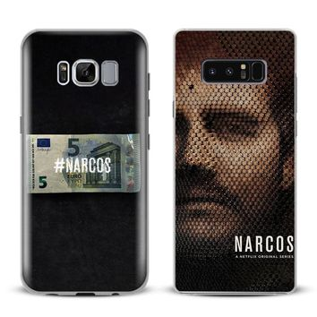 NARCOS Pablo Escobar Coque Phone Case Cover For Samsung Galaxy S4 S5 S6 S7 Edge S8 S9 Plus Note 8 2 3 4 5 A5 A7 J5 2016 J7 2017