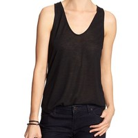Banana Republic Womens Factory Keyhole Tank