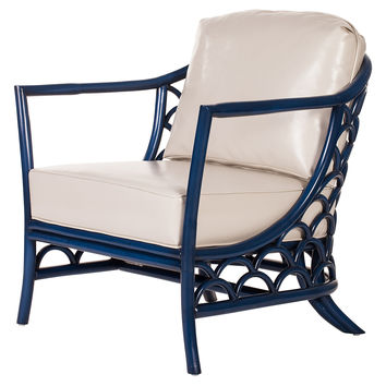 Koi Lounge Chair, Indigo, Accent & Occasional Chairs