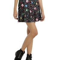 Sailor Moon Galaxy Icon Circle Skirt
