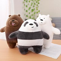 30cm  Bear Panda Plush Toy Doll