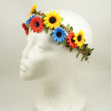 Medium Flora Garden Headband ( more Colors)