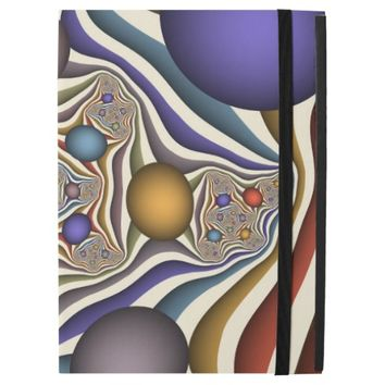 Flying Up, Colorful, Modern, Abstract Fractal Art iPad Pro Case