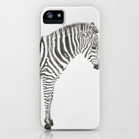 Zebra iPhone Case by Condor | Society6
