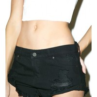 Kelly Distressed Shorts | Dolls Kill
