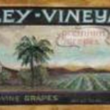 Wine Crate Labels III