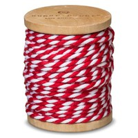 Sugar Paper Red and White Bakers Wrapping Twine
