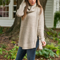 Java Great Day Sweater, Oatmeal