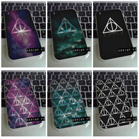 iPhone 3G 3GS - Deathly Hallows harry potter galaxy cosmic galactic space universe dark case