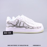 NIKE AIR FORCE 1'07 SKELETON QS cheap Men's and women's nike shoes