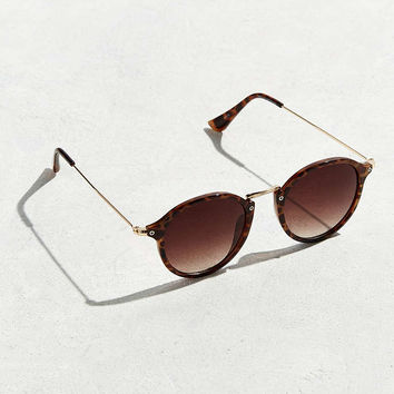 UO Metal Arm Round Sunglasses - Urban Outfitters