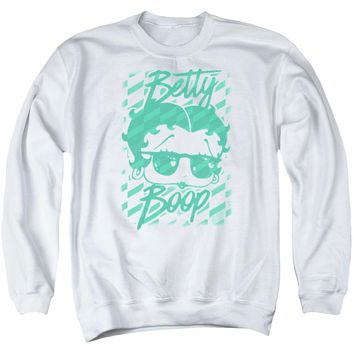 Betty Boop - Summer Shades Adult Crewneck Sweatshirt