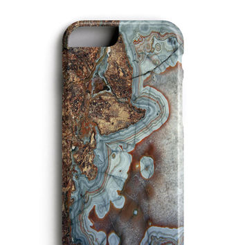 Brown Agate Marble iPhone 6 Case