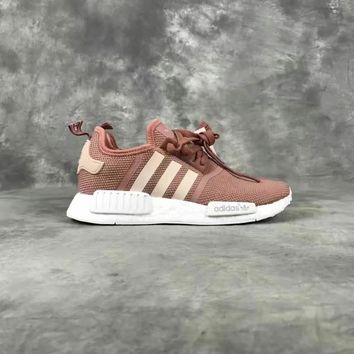 ADIDAS Women Running Sport Casual Shoes NMD Sneakers brown [11913460179]