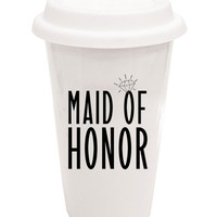 Maid Of Honor Travel Mug