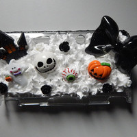 Halloween themed decoden Nintendo 3DS case