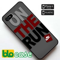 Nike On The Run Iphone 6 Plus Plastic Case